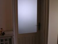 Fehérre pácolt tömör tölgy ajtó