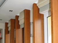 Bélelt ablakok integrált függönyel