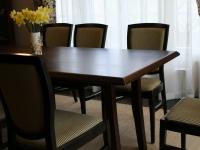 Dió asztal saját diófából