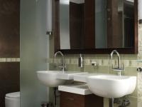 Dió egyedi mosdó