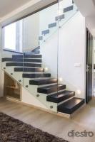 vastagitott tölgy lépcső