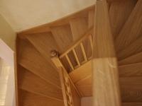 Tölgy klasszikus lépcső