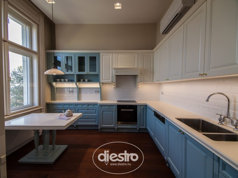 Klasszikus  konyha panoráma kép